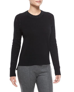 Catherine Speckled Cashmere Sweater