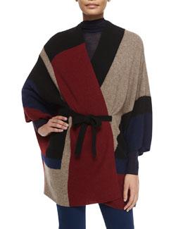Jannelo Colorblock Knit Sweater