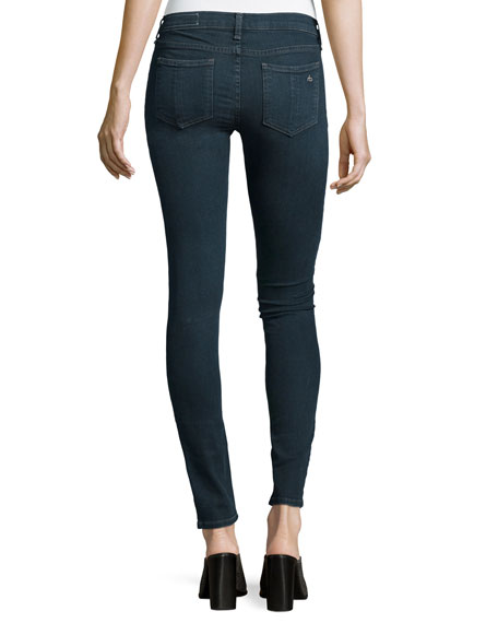 Low-Rise Skinny-Leg Jeans, Richmond