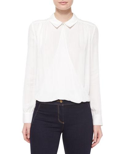 Adams Silk Collared Shirt