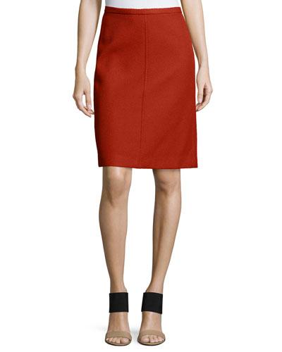 Midi Camden Twill Skirt