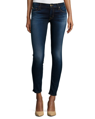 Krista Skinny Ankle Jeans, Baltic Luster