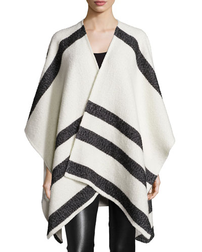 Kayson Oversized Shawl, Cream