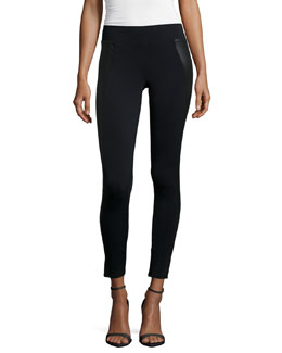 Mugu Skinny Pants, Black