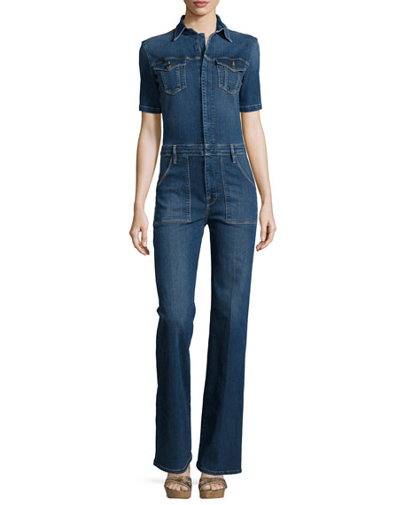 Le Mechanic Flare Jumpsuit, Lamarr