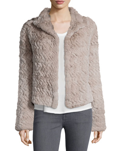Worley Rabbit Fur Coat