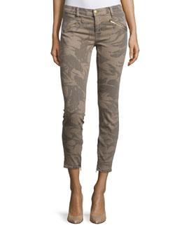 The Silverlake Skinny Cropped Jeans, Commando Camo