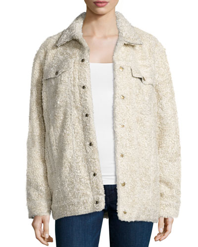 The Teddy Trucker Jacket, Sherpa