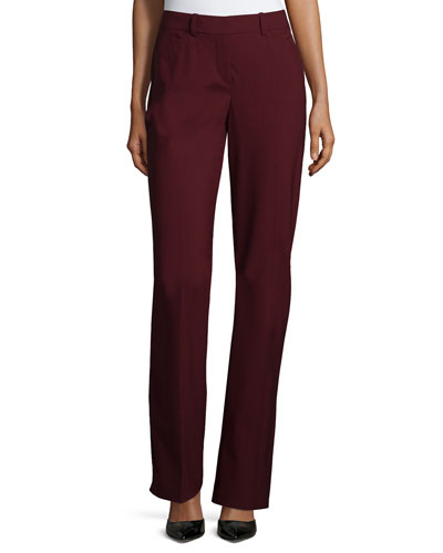 Max 2 Edition Flat-Front Trousers