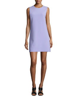 Sleeveless Carrie A-Line Dress, Lavender