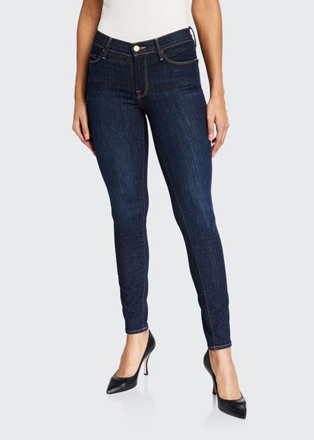 FRAME Le Skinny de Jeanne Ankle Jeans, Huntley