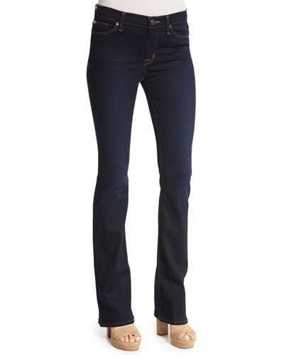 Love In Redux Boot-Cut Jeans, Blue