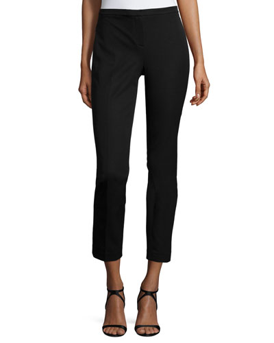 Lindley Skinny Ankle Pants, Black