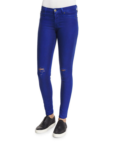 Nico Distressed Skinny Jeans, Blue My Mind
