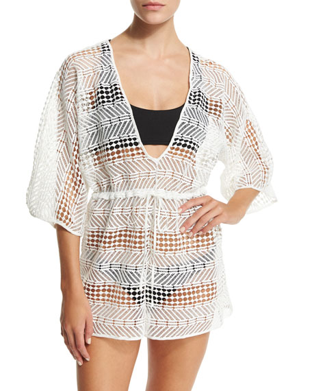 Womens Savona Crochet Romper Milly Buy Cheap Affordable Outlet Inexpensive Hurry Up abTc3NT1wQ