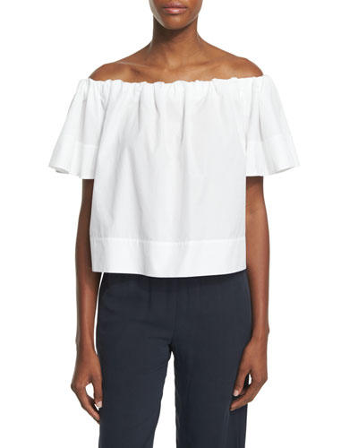 Off-The-Shoulder Cropped Top