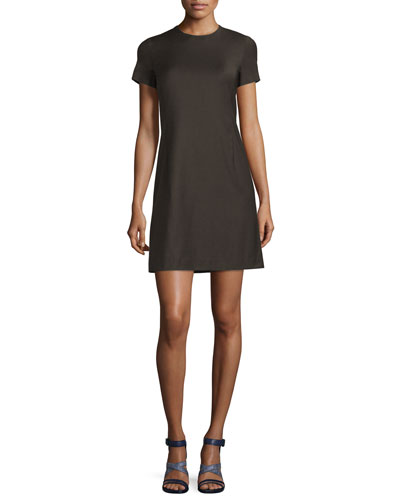 Jatinn Continuous Wool-Blend Shift Dress