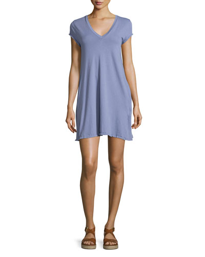 The V-Neck Trapeze Dress