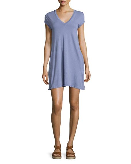 The V-Neck Trapeze Dress