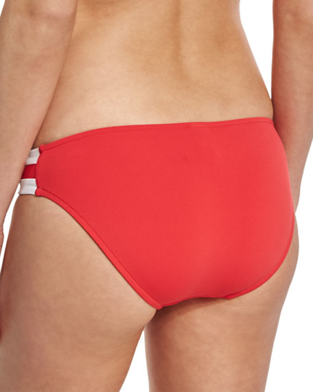 Block Party Spliced Hipster Swim Bottom