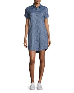 Mayvine Tierra Wash Dress, Deep Denim