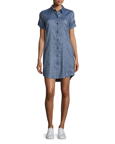 Mayvine Tierra Wash Dress, Deep Denim
