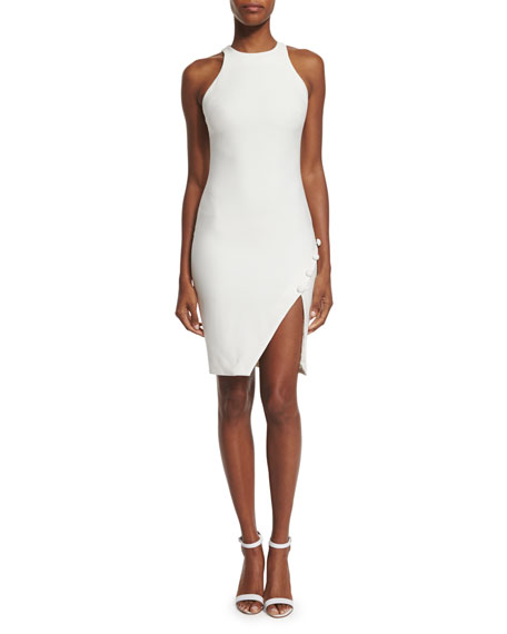 Sophia Sleeveless Sheath Dress, Ivory
