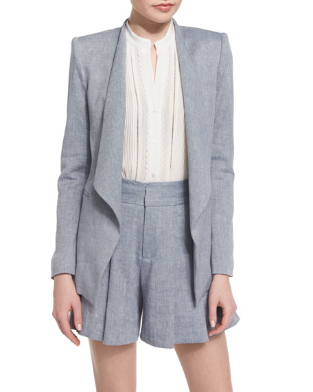 category blazers large productlarge blazer moda drapes en by dk vm night draped vero sky nightsky shop