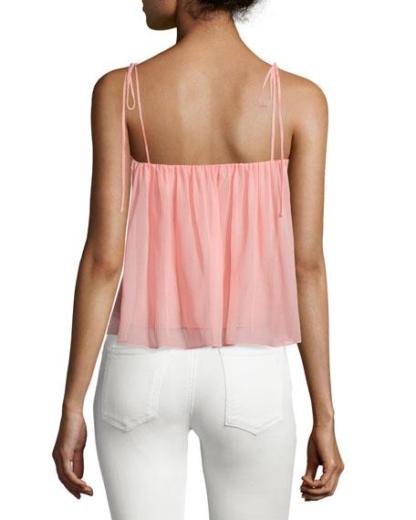 Taura Tie-Shoulder Crop Top