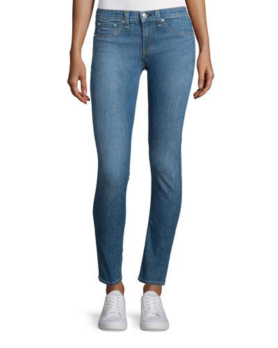 Low-Rise Skinny Ankle Jeans, Prescott