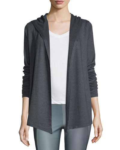 Mia Hooded Melange Jacket