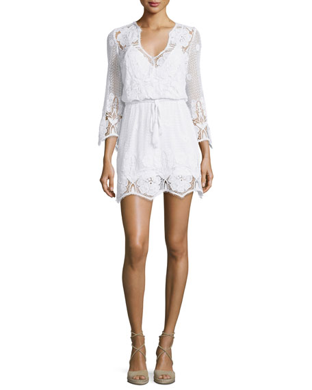 Gertrude Netted/Lace Dress Coverup