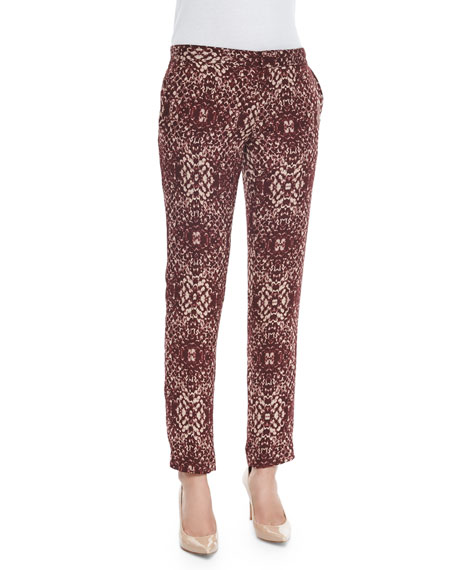 Haute Hippie The Tailored Slim Shady Pants, Shadow