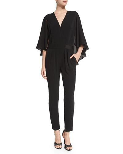 Jumpsuit with Flowy Sleeves