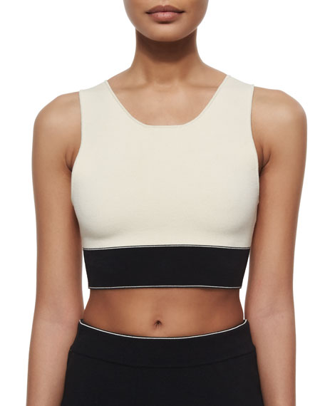 Regina Colorblock Crop Top
