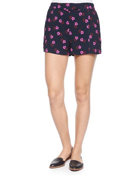 Val Mallow-Print Shorts