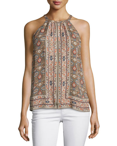 Bradie Printed Sleeveless Top