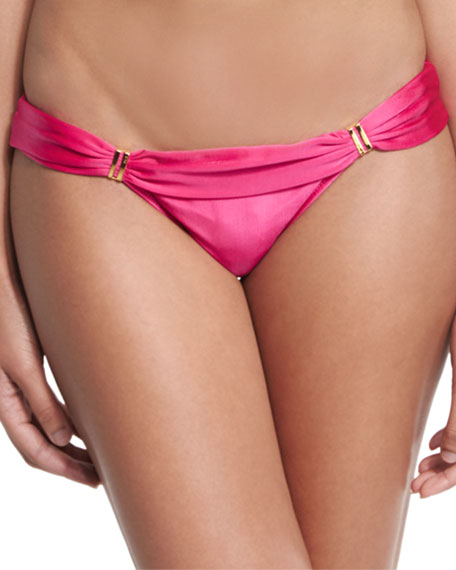Bia Solid Swim Bottom, Pink