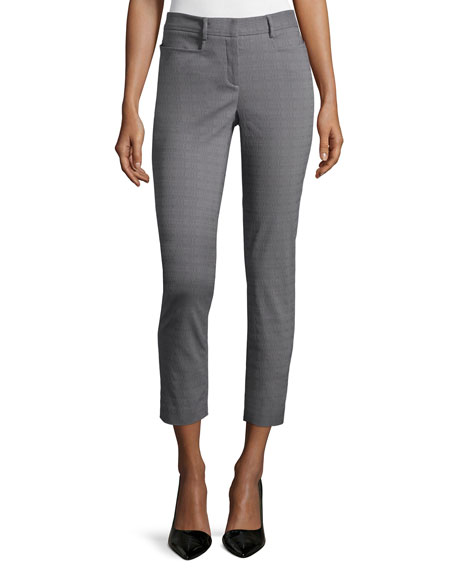 Skinny Cropped Pants, Summer Storm