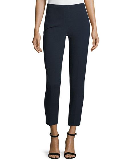 Marcia Skinny Cropped Pants, Navy Yard