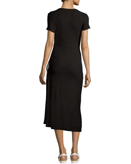 Jilaena Short-Sleeve T-Shirt Dress