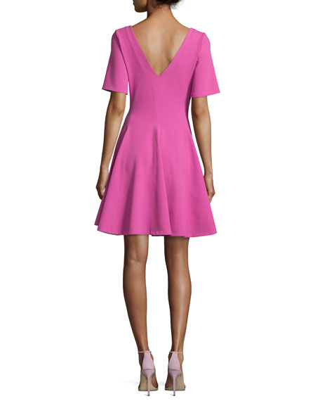 Stone Penn Tulip Dress, Fuchsia
