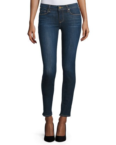 Skyline Ankle Peg Jeans, Emery