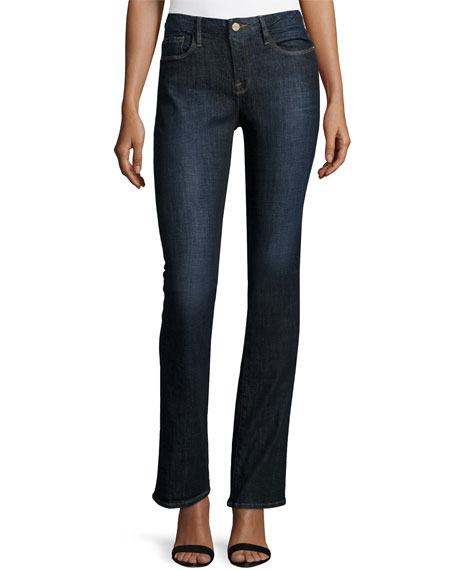 FRAME Le Mini Boot-Cut Jeans, Kingland