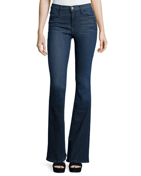 FRAME Le High Flare Jeans, Riverdale
