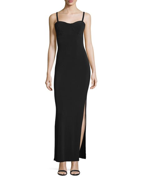 The Outlaw Stretch Gown, Black