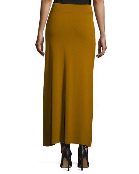 Muller Overlap Maxi Skirt, Honey