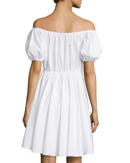 Bardot Off-The-Shoulder Sundress