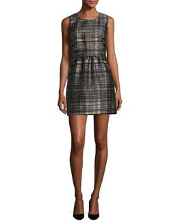Laura Confetti Check Dress