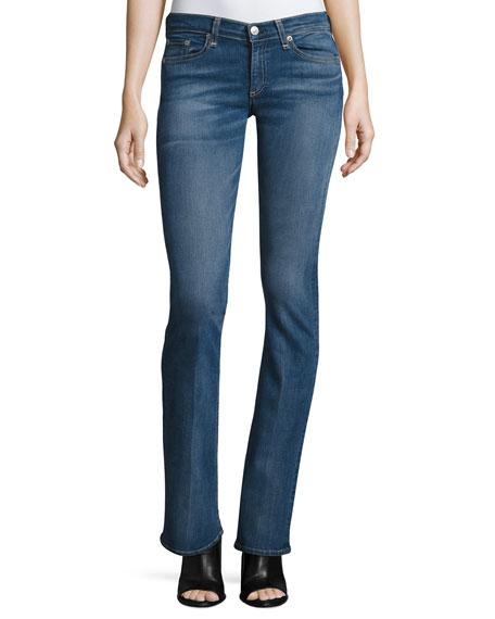 Mid-Rise Boot-Cut Jeans, Elma